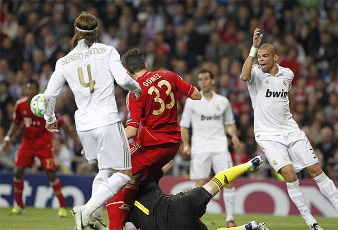 Real Madrid y Bayern libraron una batalla tit�nica en el Bernab�u por un puesto en la final de la Champions.