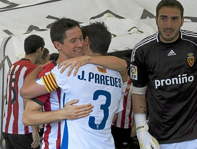 Ander Herrera regres� a la que fue su casa los �ltimos a�os y se march� con una derrota que doli� menos de lo habitual