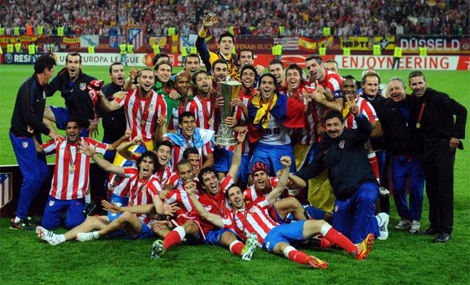 El Atlético de Madrid se proclamó campeón de la UEFA Europa League.