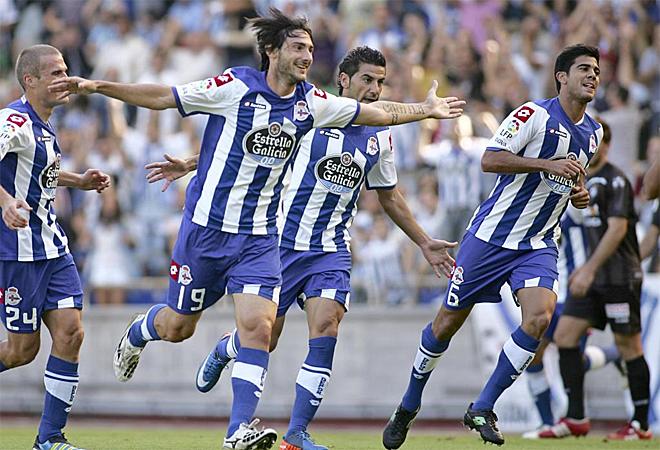El Deportivo disput� su primer partido de la temporada contra el Recreativo. Un tanto de Colotto le dio su primera victoria en Segunda.