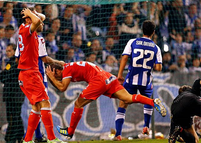 El Celta recibi� el primer palo de la temporada con su derrota en Riazor en el derbi gallego.