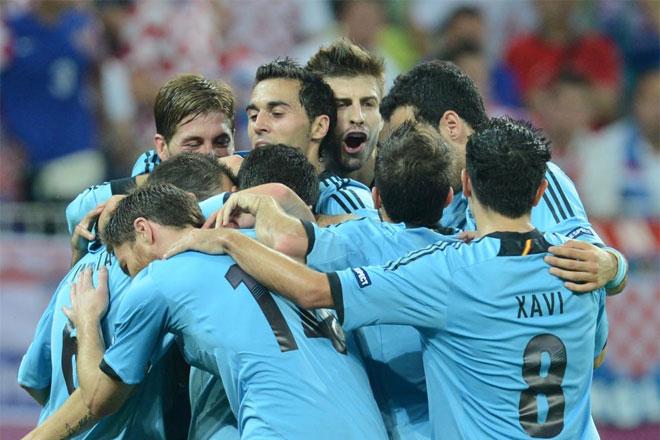 Espa�a se impuso por la m�nima a Croacia y pasa a cuartos de final como primera de grupo.
