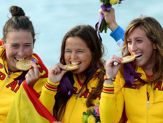 Tras una dura batalla en la �ltima jornada con Australia, el equipo de vela espa�ol se adjudic� la medalla de oro de la clase Elliot 6 metros.