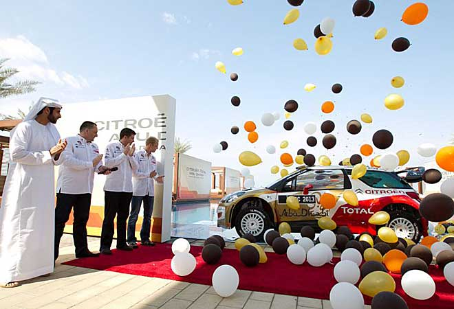 Momento en el que se descubre cómo será el WRC de 2013