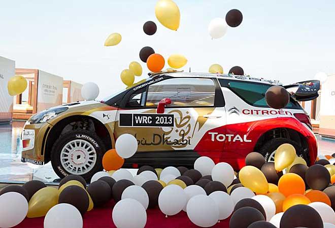 Así serán los nuevos colores y el nuevo diseño del WRC para 2013.