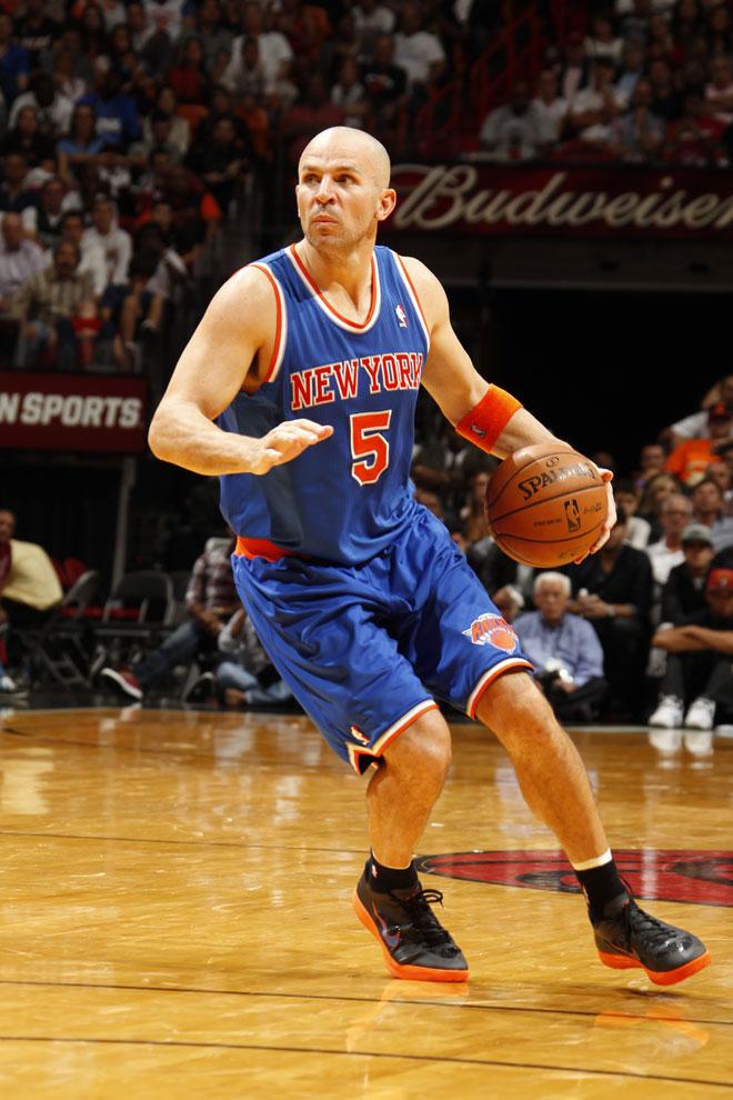 Jason Kidd jugando con los New York Knicks