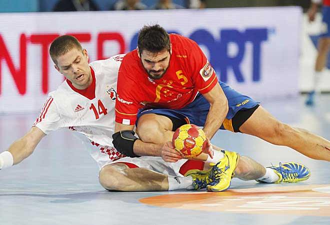 Al final fue Croacia la que ganó y España acabó segunda de grupo.
