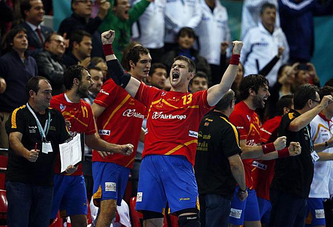 Espa�a jugar� las semifinales de 'su' Mundial tras eliminar a Alemania.