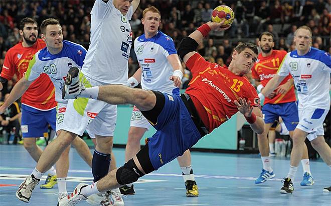 Julen Aguinagalde volvió a demostrar su acierto ante Eslovenia demostrando ser uno de los mejores jugadores del mundo.
