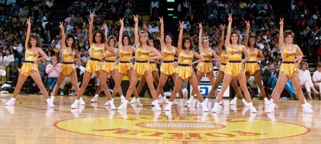 Las Laker Girls forman parte de la iconograf�a de la NBA y son todo un s�mbolo para los Lakers.