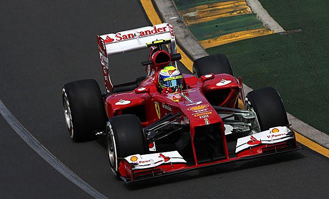 Massa acabó tras Vettel en la primera sesión de los libres.
