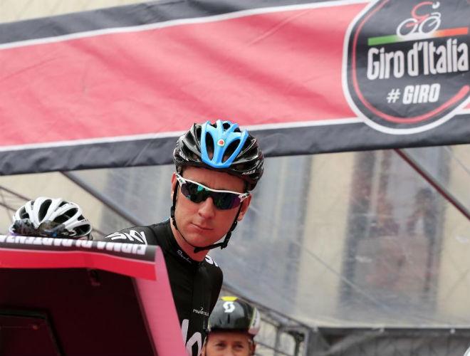 Bradley Wiggins se ha mostrado muy tranquilo en las primeras etapas del Giro. Sabe que la batalla comienza m�s adelante.