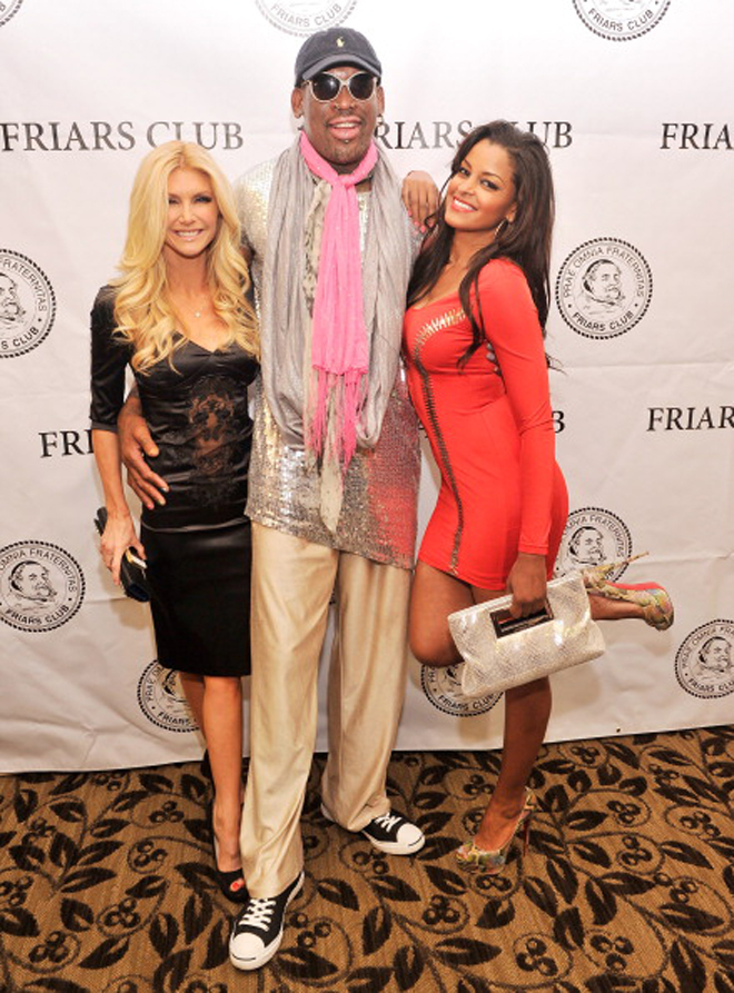 A lo largo de su larga carrera Dennis Rodman ha sido famoso por sus arriesgados estilismos.