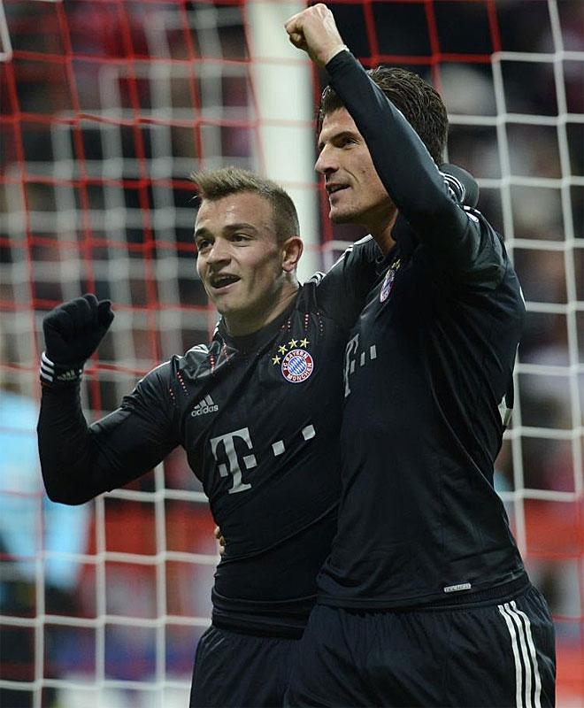 El Bayern se desquitó frente al BATE Borisov en el partido de vuelta. 4-1 ganaron los de Múnich. Mario Gomez y Shaqiri hicieron un tanto cada uno.