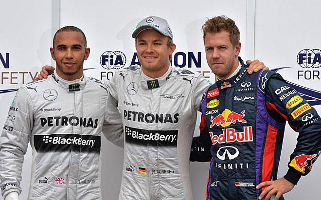 Nico Rosberg se ha acostumbrado a ser el 'poleman' y no se cansa. El alem�n logr� en M�naco su tercera pole consecutiva.