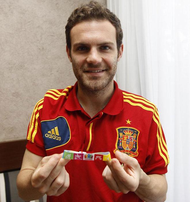 Mata, en la Copa Confederaciones, con Madrid 2020.