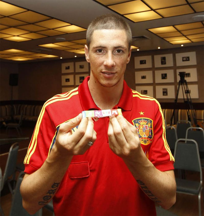 Fernando Torres ya la tiene.