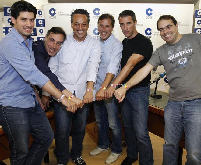 El equipo de Deportes COPE, capitaneado por Paco González, apuesta por la candidatura de Madrid 2020.