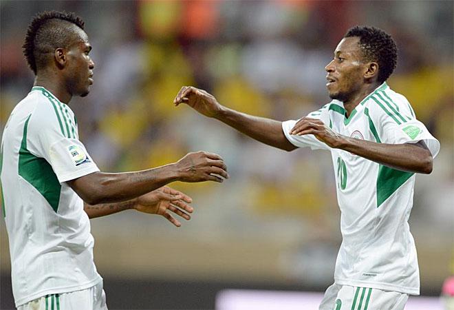 El nigeriano Nnamdi Oduamadi hizo tres goles y se coloc� Pichichi tras la primera jornada de la Confederaciones.