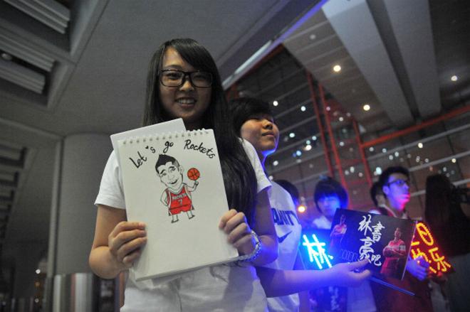 As� recibieron a Jeremy Lin en Pek�n