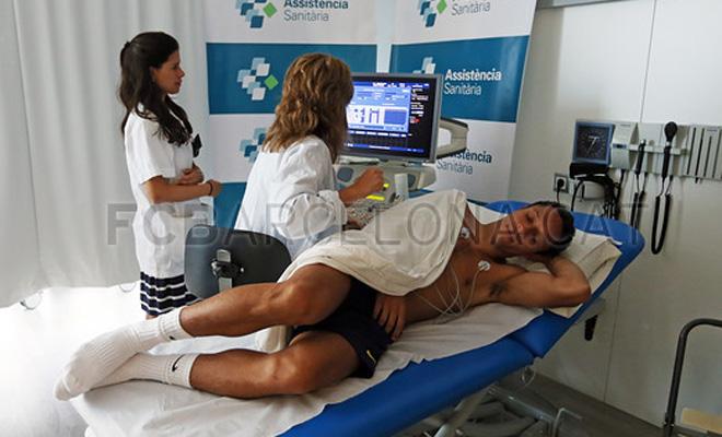 Los 15 jugadores del Barcelona citados este lunes pasaron las pruebas médicas.