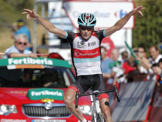 Horner demostró en el Alto de Hazallanas que a día de hoy es el corredor más fuerte de la montaña.