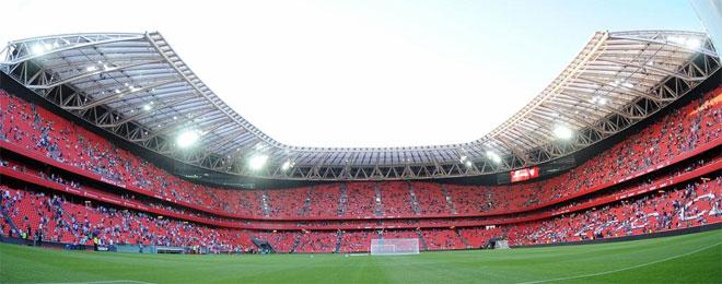 El athletic de bilbao se ejercitó por primera vez en su nuevo estadio el  entrenamiento jpg 757d51a9b852e