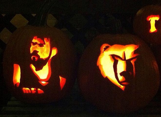 Los aficionados de la mejor liga del mundo homenajean con calabazas la competición. La NBA se suma a Halloween de esta manera tan curiosa y artística.