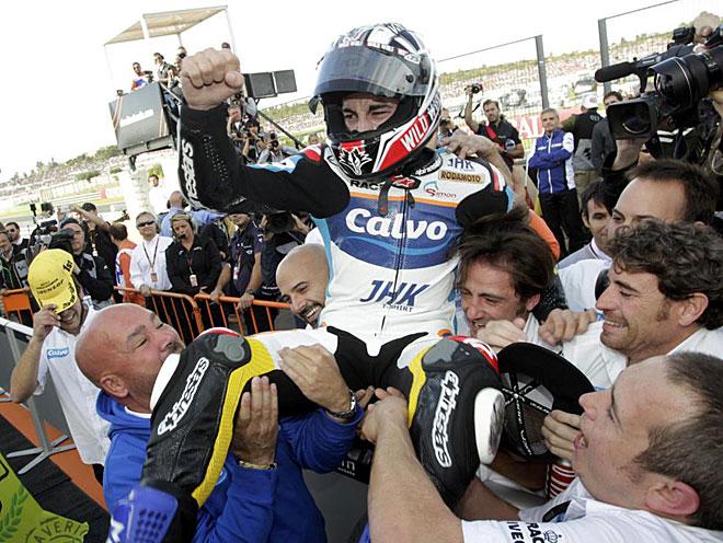 Maverick Vi�ales se proclam� campe�n del mundo de Moto3 al ganar la �ltima carrera disputada en el circuito Ricardo Tormo de Cheste.
