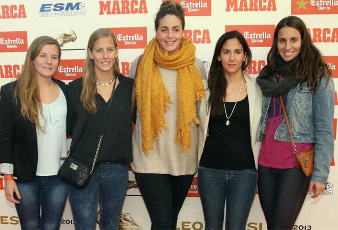 Ona Maseguer, Marta Bach, Maica Garc�a, Pilar Pe�a y Anni Espar estuvieron tambi�n presentes.