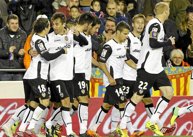 El equipo valencianista pasó una tarde placentera con su victoria ante Osasuna.