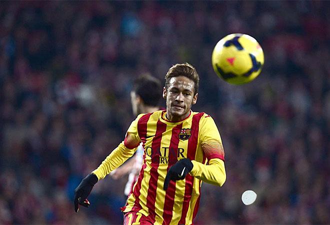 Neymar no pudo marcar la diferencia en San Mamés.