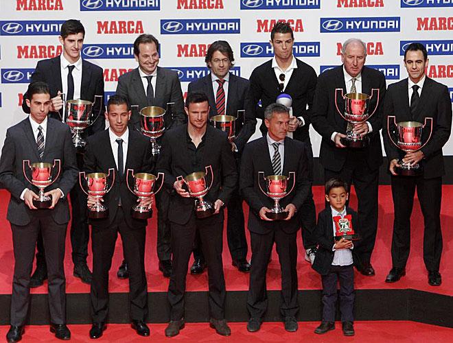 Foto de los galardonados de los trofeos Marca 2013