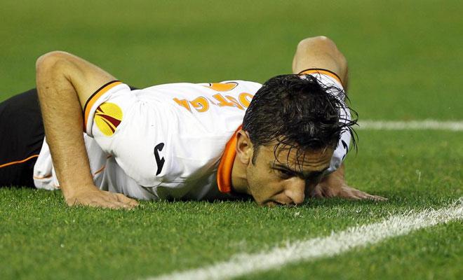 Hélder Postiga tuvo buenas ocasiones para marcar, pero no estuvo fino.