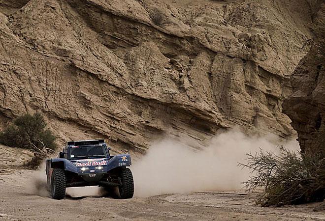 Las im�ganes espectaculares que dej� la cuarta etapa del Dakar.