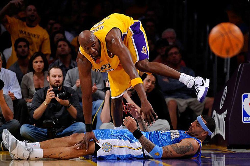 Lamar Odom, dos veces campeón de la NBA y ex jugador de Clippers, Heat, Mavericks y Lakers, es uno de los deportistas más mediáticos de Estados Unidos por su <strong><a href=https://www.marca.com/2012/03/23/baloncesto/nba/noticias/1332501114.html>relación sentimental con su ex esposa Khloe Kardashian</a></strong>.