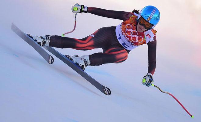 Esquí alpino<br> · Sufrió una caída en el descenso<br> · Sufrió una caída en el súper gigante