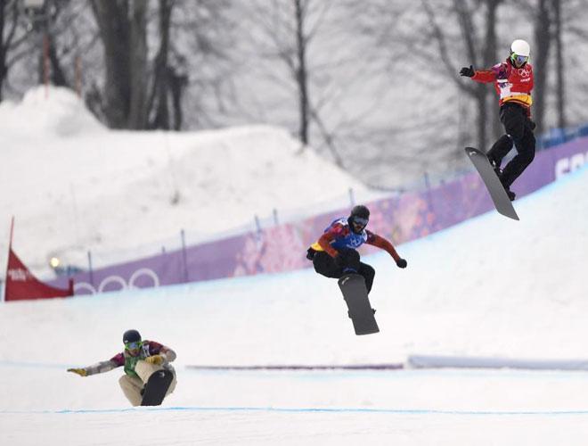 Snowboard<br> · Hasta cuartos de boardercross