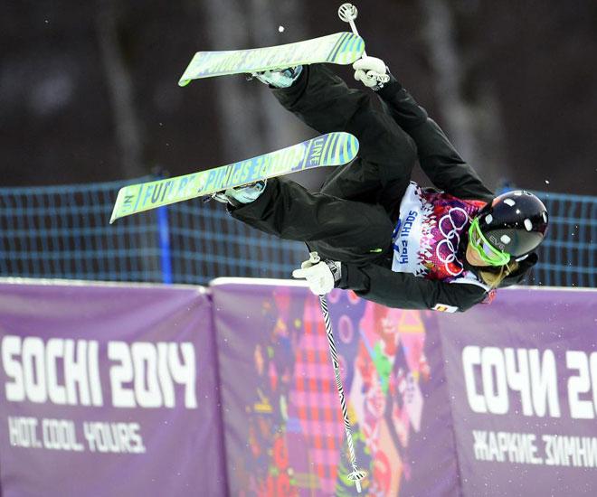 Esquí freestyle<br> · 16ª en halfpipe (fuera de la final)