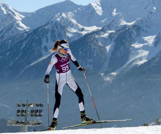 Esquí de fondo<br> · 10ª en 30 km.<br> · 25ª en skiathlon<br> · 28ª en 10 km. clásico