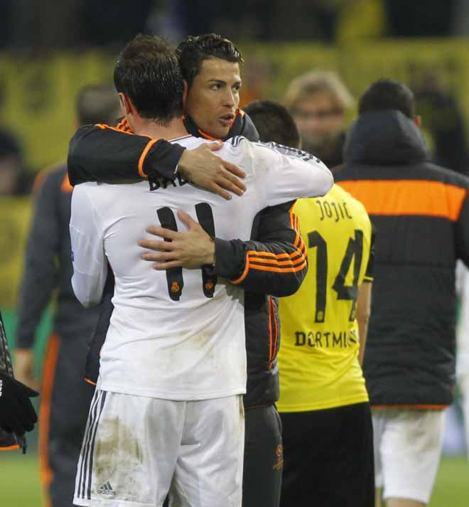 The best shots of the second leg of the Champions League quarterfinal between the German and Spanish clubs, with Cristiano Ronaldo starting on the bench.