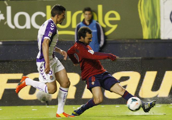 Osasuna y Valladolid no supieron romper el empate inicial en un duelo directo por la permanencia.