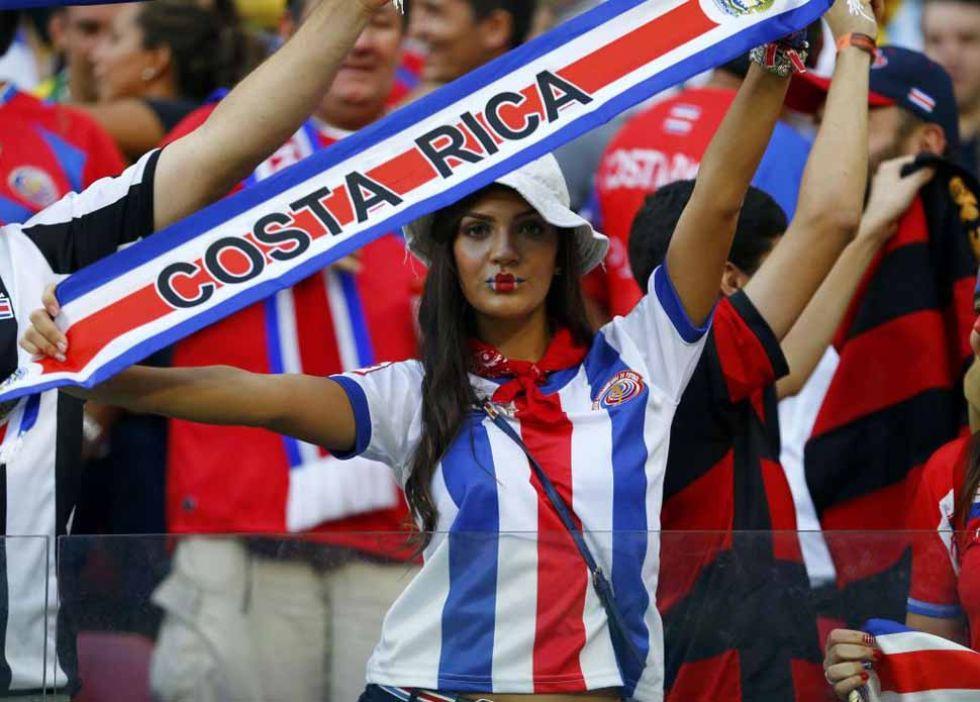 La afición costarricense no se perdió una cita histórica.