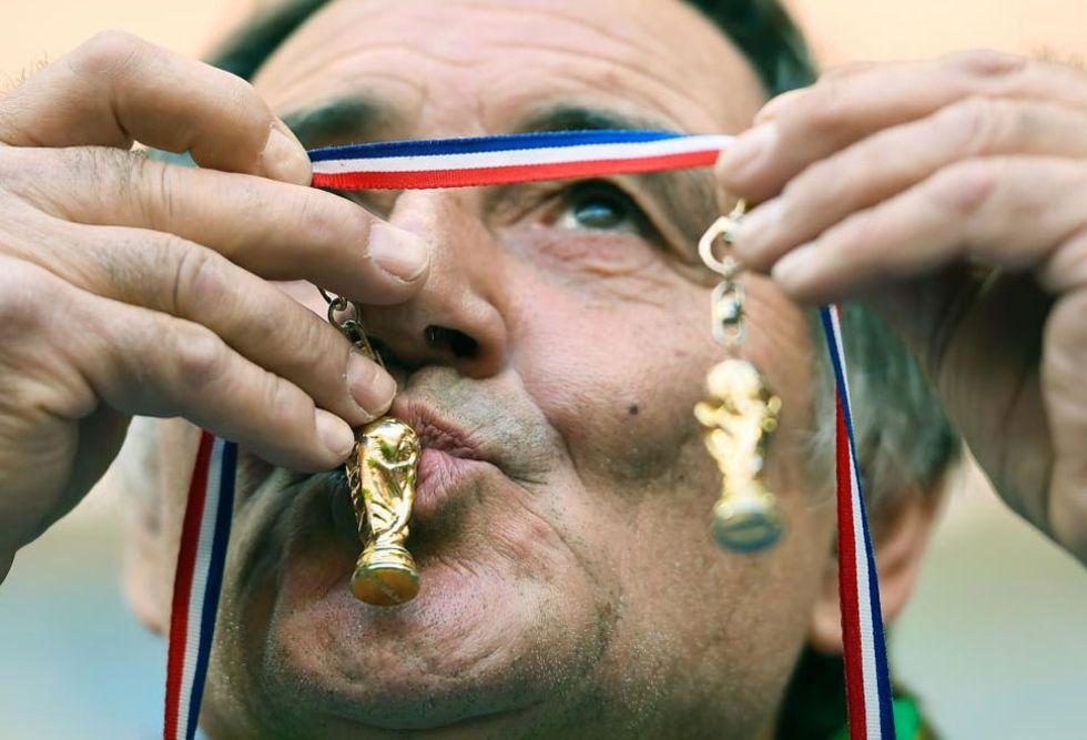 Este francés ya tiene su segundo Mundial. Se ha adelantado al tiempo.