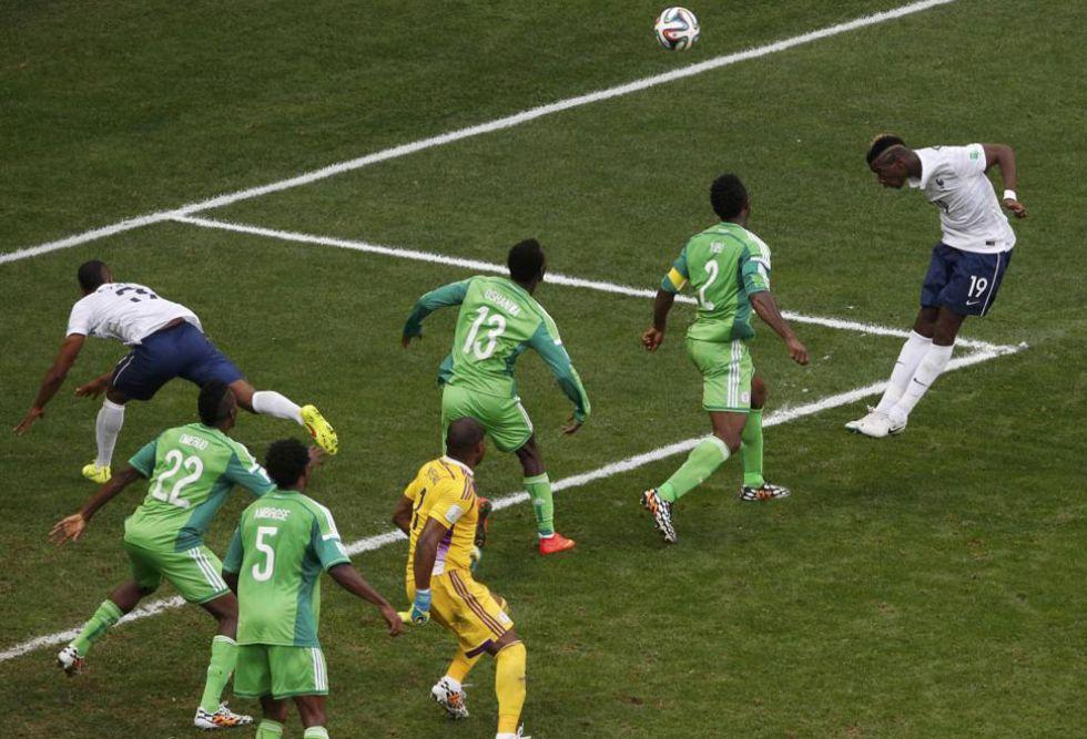 El centrocampista de la Juve abri� el marcador tras el fallo de Enyeama.