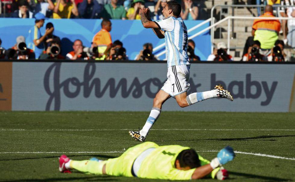 Di Mar�a salv� a La Albiceleste con un gol suyo en el 118', cuando la pr�rroga llegaba a su fin.