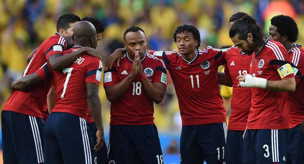 Cuartos de final del Mundial. Fortaleza. Así fue el Brasil-Colombia en imágenes.