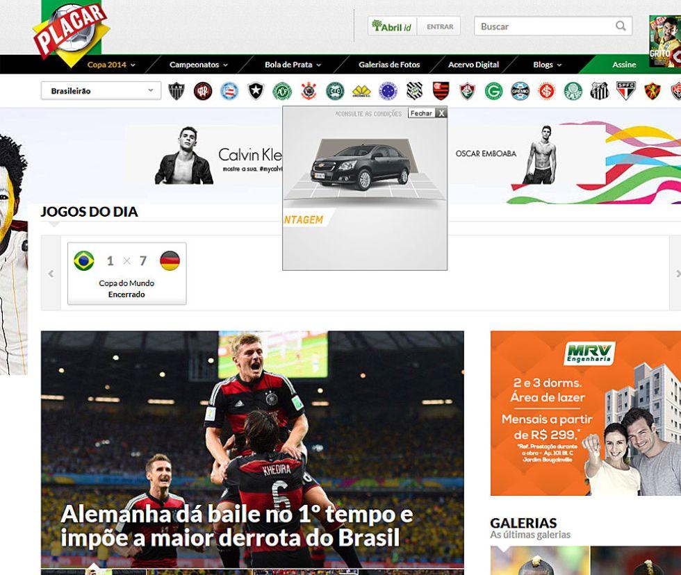 Alemania da un baile en el primer tiempo e impone la mayor derrota a Brasil