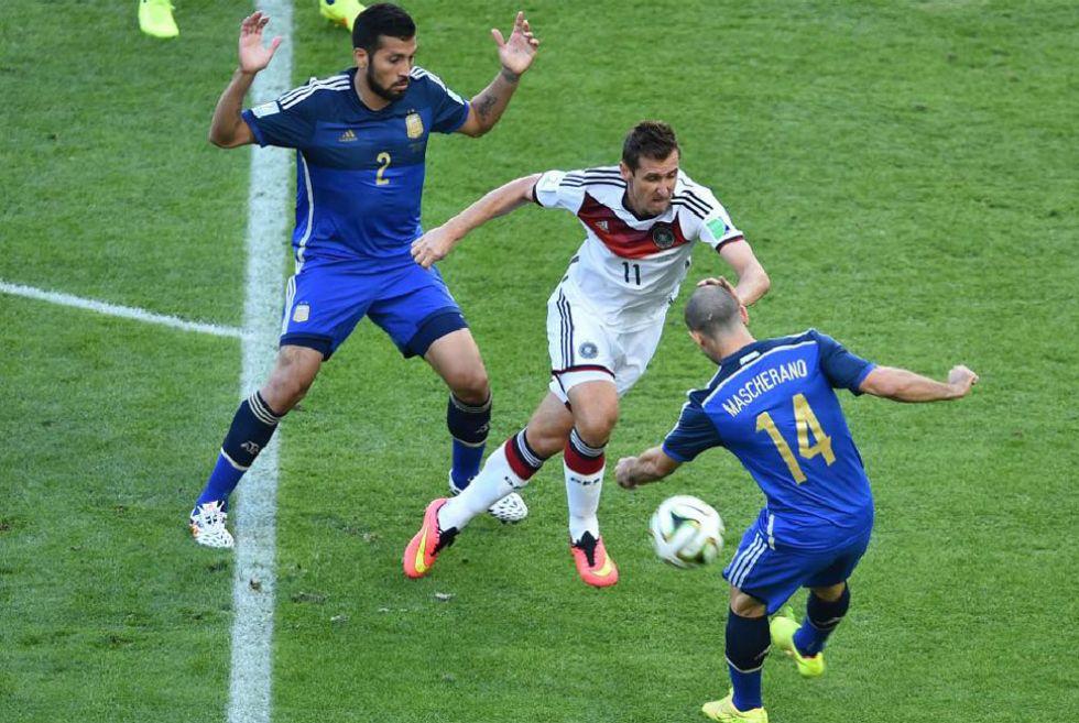 Disfruta de las mejores im�genes de la final del Mundial entre Alemania y Argentina en el estadio de Maracan�.