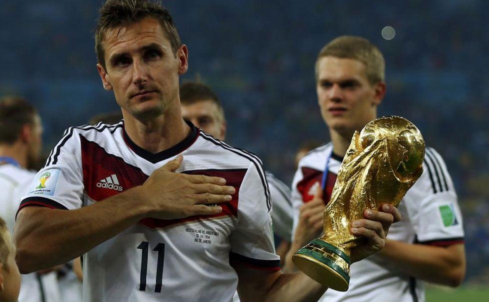 Klose, emocionado con la Copa del Mundo